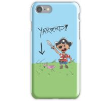 Pirate Lawn iPhone Case/Skin