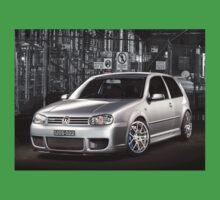 Jose's Volkswagen MkIV R32 Golf Kids Tee