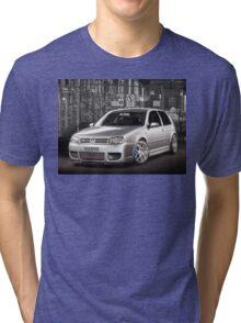 Jose's Volkswagen MkIV R32 Golf Tri-blend T-Shirt