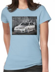 Jose's Volkswagen MkIV R32 Golf Womens Fitted T-Shirt