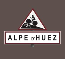 Alpe d'Huez Sign Mountain Cycling Tour de France by movieshirtguy