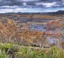 Waihi Gold Mine by Antony Burton