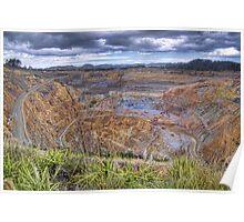 Waihi Gold Mine Poster