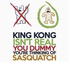 King Kong vs Sasquatch One Piece - Short Sleeve