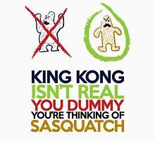 King Kong vs Sasquatch Unisex T-Shirt