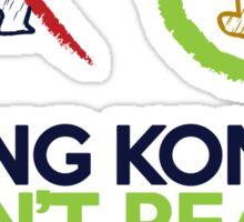King Kong vs Sasquatch Sticker