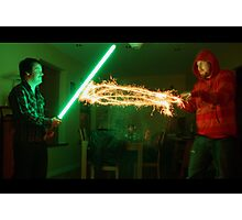Star Wars Duel Photographic Print