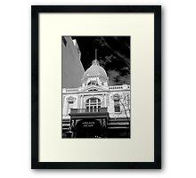 Adelaide Arcade Framed Print