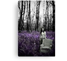 Standing In Silence Canvas Print