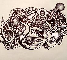 Abstract Away by ziahphoenix