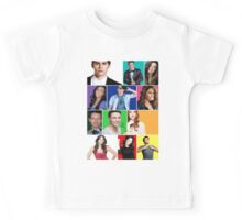 Teen Wolf Cast Boxes Kids Tee