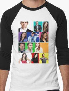 Teen Wolf Cast Boxes Men's Baseball ¾ T-Shirt