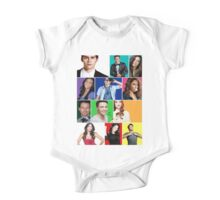 Teen Wolf Cast Boxes One Piece - Short Sleeve