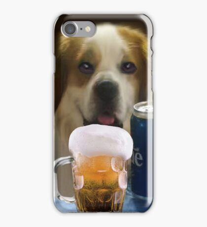 I FEEL A COLD ONE COMIN ON..CAININE BEER-JOURNAL-- PICTURE,PILLOW,TOTE BAG,TEE SHIRT,ECT..CHEERS!! iPhone Case/Skin