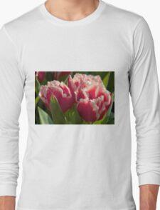 Fringed tulips Long Sleeve T-Shirt
