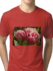 Fringed tulips Tri-blend T-Shirt