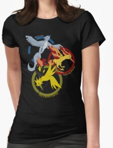 Birds x The Hunger Games (v2) Womens Fitted T-Shirt