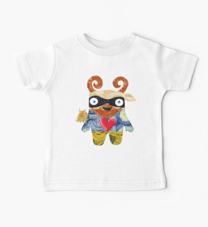 Van Gogh Monster Baby Tee