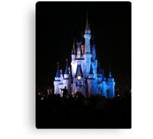 Cinderella Castle and Walt Canvas Print