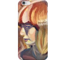 Colorful lady iPhone Case/Skin