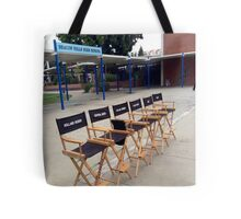 Teen Wolf Set Chairs Tote Bag