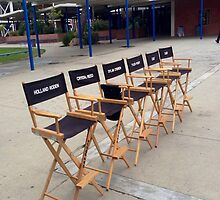Teen Wolf Set Chairs by jordams124