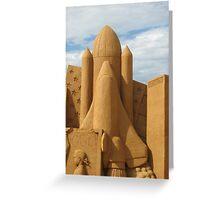 5 4 3 2 1 Sand blast off Greeting Card