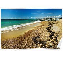 Shoreham Beach, East Sussex, UK Poster