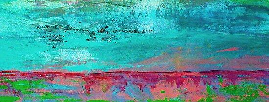 Turquoise Sky by Angela  Burman