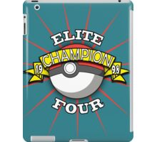 Elite Four Champion iPad Case/Skin
