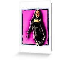 The Illustrated Nun Greeting Card
