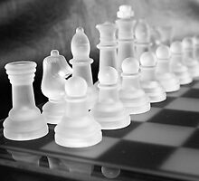 Chess in Black&White by Anina Arnott