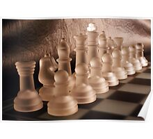 Chess with Temperature Contrast Poster