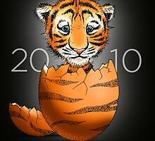 Where baby tigers come from...  by Joozu