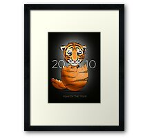Where baby tigers come from...  Framed Print
