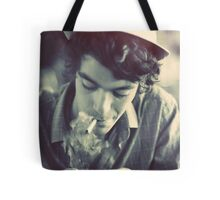 The Boy with a hat Tote Bag