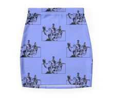 Camel Riders Mini Skirt