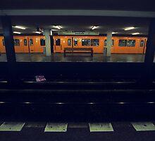 U-Bahn, Berlin by Leo Shum