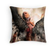 Knocking on heavens door. Throw Pillow