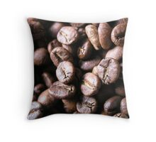 Bean Drinking? Throw Pillow