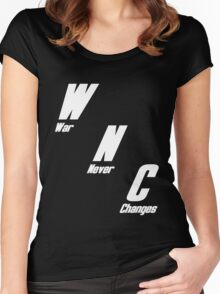 War, War Never Changes Women's Fitted Scoop T-Shirt