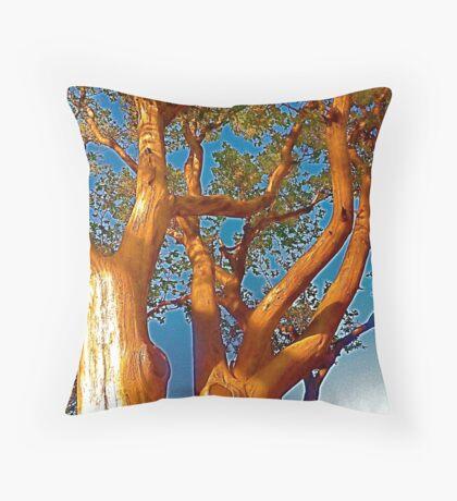 The Trees Throw Pillow