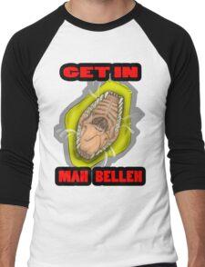 Get In Mah Belleh Yellow Men's Baseball ¾ T-Shirt