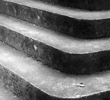 Corner Stairway by David Piszczek