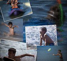 active boy  by Anne Scantlebury
