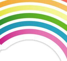 Rainbow LEDs Sticker