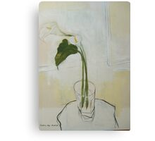 the arum Canvas Print