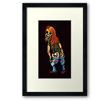 The Moon is Shining Framed Print
