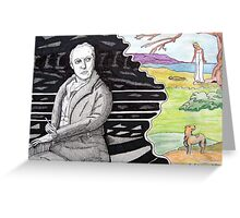290 - WILLIAM BLAKE - DAVE EDWARDS - MIXED MEDIA - 2010 Greeting Card