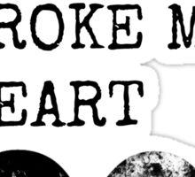 Heavy Metal Broke My Heart Sticker